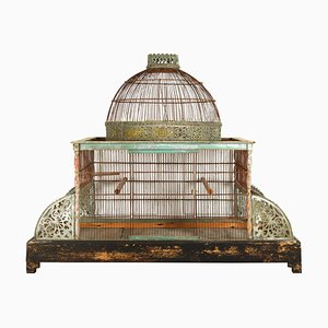 Large 19th Century Bird Cage