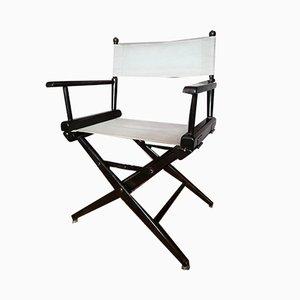 Chaise Pliante Vintage en Toile