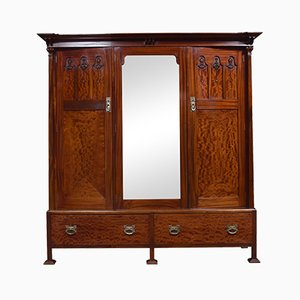 Antique Mahogany Wardrobe