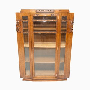 Antique Art Nouveau Display Cabinet