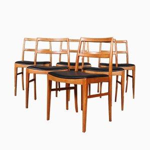Chaises de Salle à Manger par Arne Vodder pour Sibast, 1960s, Set de 6