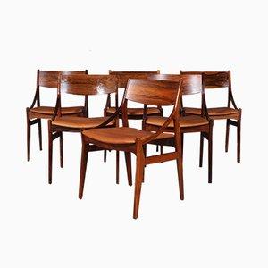 Esszimmerstühle aus Palisander von Vestervig Eriksen für Brdr. Tromborgs Eftf., 1960er, 6er Set