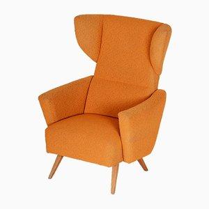 Beech Wing Armchair, 1950s