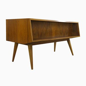 Bauhaus Schreibtisch von Franz Ehrlich für VEB Deutsche Werkstätten Hellerau, 1950er