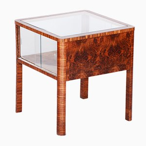 Art Deco Walnut Coffee Table, 1930s