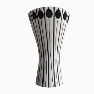 Vase en Céramique par Roger Capron pour Vallauris, années 50