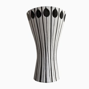 Vaso in ceramica di Roger Capron per Vallauris, anni '50