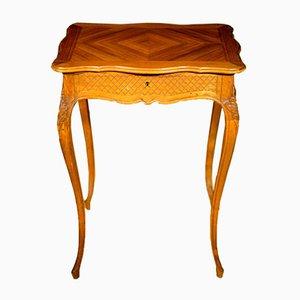 Mesa de costura Napoleon III antigua, década de 1880
