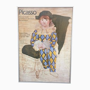 Vintage Picasso Exhibition Poster, 1979