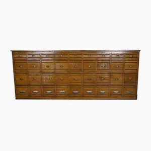 Mueble francés vintage de pino y pintura de imitación de roble