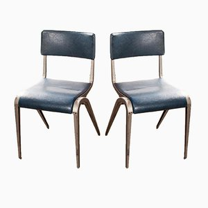 Dining Chairs by James Leonard for Esavian ESA, 1950s, Set of 2