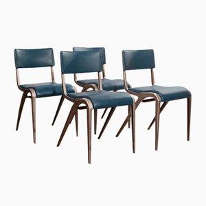 Esszimmerstühle von James Leonard für Esavian ESA, 1950er, 4er Set