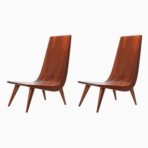 Brazilian Lounge Chairs, 1970s, Set of 2