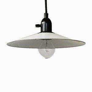 Lámpara de techo industrial de Bruno Paul para Vereinigte Werkstätten Collection, años 20