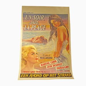 An Evening on the Beach Movie Poster, 1961