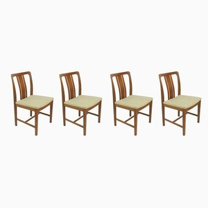 Mid-Century Swedish Dining Chairs from Lammhult, Set of 4