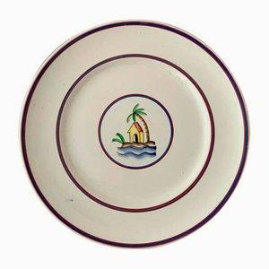 Piatto di Gio Ponti per Richard Ginori, anni '30