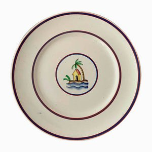Plate Series by Gio Ponti for Richard Ginori, 1930s