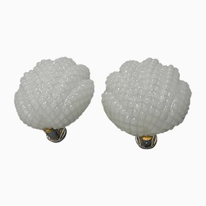 Vintage Sconces from Barovier & Toso, 1960s, Set of 2