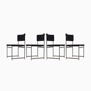 Chaises de Salle à Manger Modèle SM08 en Palissandre par Cees Braakman pour Pastoe, années 60, Set de 4