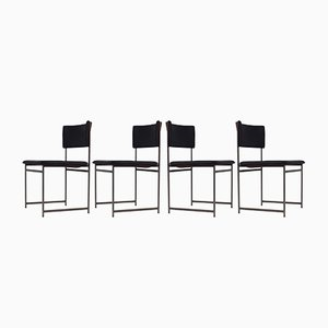 Model SM08 Rosewood Dining Chairs by Cees Braakman for Pastoe, 1960s, Set of 4