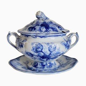 Grande Soupière Ancienne en Porcelaine de Wedgwood, Angleterre