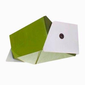 Aplique verde de J. J. M. Hoogervorst para Anvia, años 70