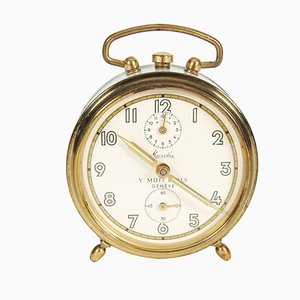 Antique Alarm Clock from V. Muff & Fils