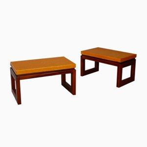 Mesas de centro de Paul Frankl, años 50. Juego de 2