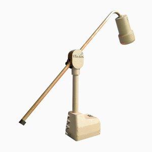 Lampe de Bureau Industrielle Ajustable, années 50