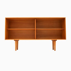 Satin Wood Bookcase by Robin Day for Hille, 1950s