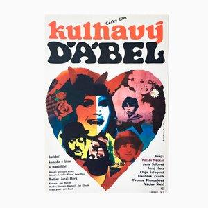 The Limping Devil Movie Poster by Antonín Dimitrov, 1968