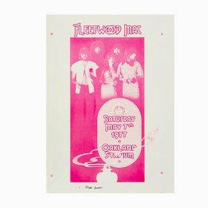 Poster del concerto dei Fleetwood Mac di Randy Tuten, William Bostedt, 1977