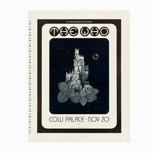 Póster de concierto de The Who de David Singer, 1973