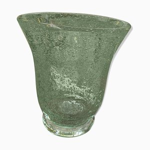 Bubble Glass Vase from Daum, 1950s