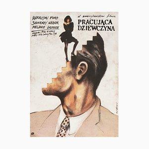 Affiche Working Girl par Andrzej Pagowski, 1987