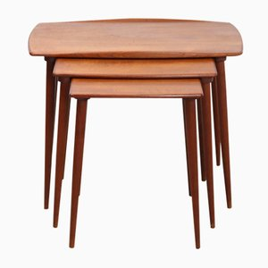 Danish Teak Nesting Tables by Jens Quistgaard, 1950s