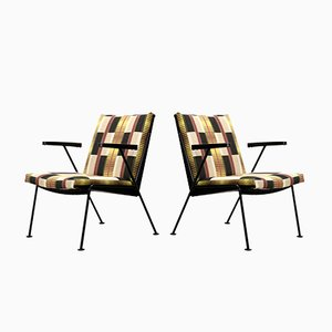 Oase Armchairs by Wim Rietveld for Ahrend De Cirkel, 1960s, Set of 2