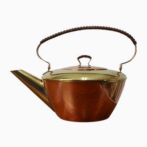 Mid-Century Teekanne aus Kupfer von Mussbach Metall, 1960er