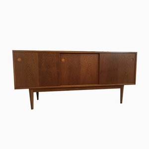 Scandinavian Modern Danish Oak Sideboard, 1960s