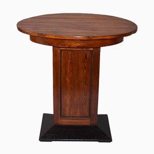 Tavolino da caffè ovale Art Déco, anni '30