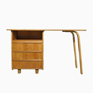 Oak Desk by Cees Braakman for Pastoe, 1950s