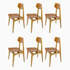 Mid-Century Dining Chairs from Stella, Set of 6