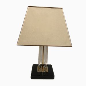Mid-Century Acrylic Table Lamp