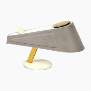 Lámpara de mesa de metal, años 50