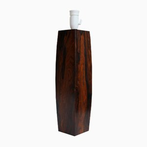 Mid-Century Danish Rosewood Table Lamp, 1960s