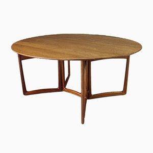Table de Salle à Manger à Abattants Mid-Century en Teck par Peter Hvidt & Orla Mølgaard-Nielsen, années 60
