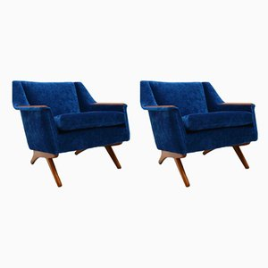 Armchairs by Illum Wikkelso , 1960s, Set of 2
