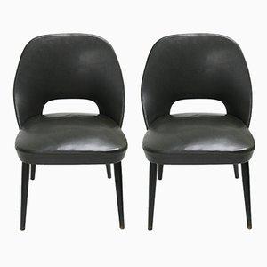 Kleine italienische Mid-Century Sessel, 1960er, 2er Set
