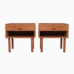 Teak Dressers by Hans J. Wegner for Ry Møbler, 1950s, Set of 2